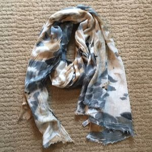 Cotton Patterned  Scarf